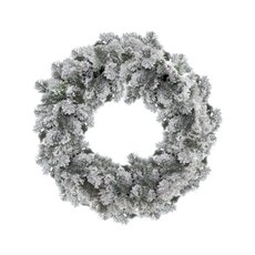 Iceland Pine Christmas Wreath White (60cm)
