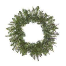 Needle Pine Christmas Wreath Green (50cm)