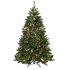 Christmas Trees - Bavarian Pine Christmas Tree 300 LED Lights 240V (180cm)