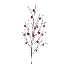 Jingle Bells Crystal Spray Red (90cm)