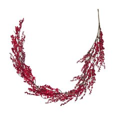 Lush Mixed Berry Garland Red (150cm)