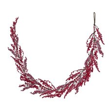 Lush Mixed Berry Garland Red (110cm)