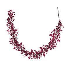 Pomegranate Garland Dark Red (180cm)