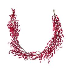 Lush Mixed Berry Pomegranate Garland Red (135cm)