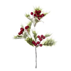 Holly Berry Pick Green (30cm)