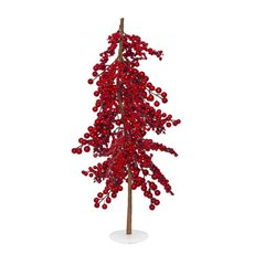 Decorative Christmas Trees - Berry Luschious Christmas Tree (60cmH)