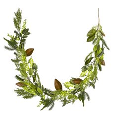 Christmas Garlands - Garden Fresh Look Christmas Garland Magnolia Pine (150cm)