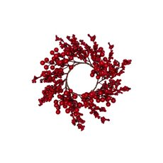 Christmas Wreath - Berry Luschious Christmas Candle Ring (30cm)
