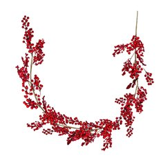 Christmas Garlands - Berry Luschious Christmas Garland Red (150cm)