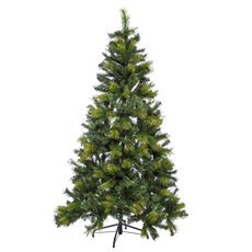 Artificial Christmas Trees - Needle Pine Christmas Tree Mixed Green (180cmH)