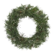 Christmas Wreath - Cashmere Pine Christmas Wreath with Snow Tips Green (50cm)