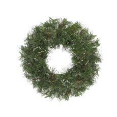 Christmas Wreath - Cashmere Pine Christmas Wreath with Snow Tips Green (70cm)
