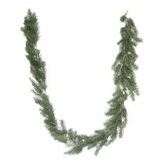 Christmas Garlands - Frosted Pine Christmas Garland Grey (180cm)