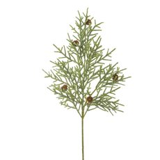 Christmas Flowers - Fir Pine Spray Green (68cm)
