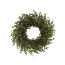Christmas Wreath - Spruce Pine Christmas Candle Ring Green (30cm)