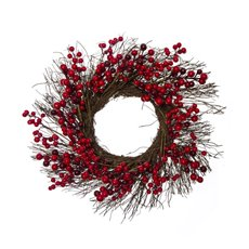 Christmas Wreath - Lush Berry Christmas Wreath Red (45cm)