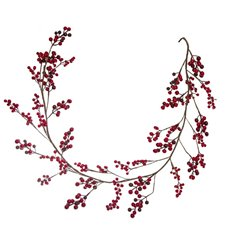 Christmas Garlands - Lush Berry Christmas Garland Red (150cm)