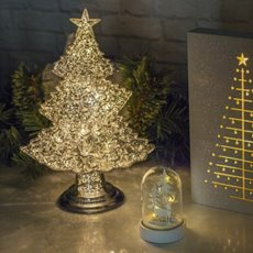 Christmas Ornaments - Acrylic LED Christmas Tree (35cm)