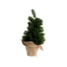 Evergreen Needle Pine Christmas Tree Green (48cmH)
