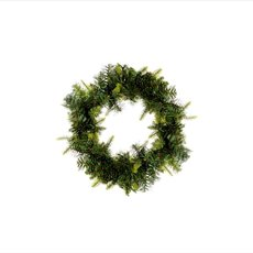 Hunter Needle Pine Wreath Green (35cmD)