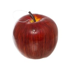 Artificial Delicious Apples 3 Pack Large Red (12cmD)