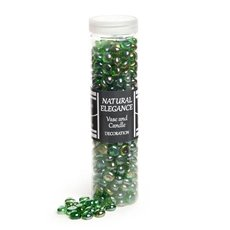 Glass Diamond & Gems - Glass Gems Mini Forrest Green 700g Jar (12.5mm)