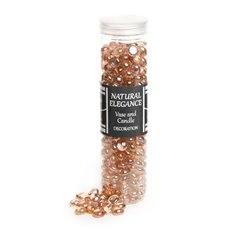 Glass Gems Mini Peach 700g Jar (12.5mm)