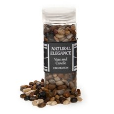 Stones Rocks Natural - Pebbles Natural Assorted 900g Jar (5-15mm)