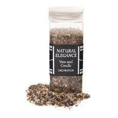 Stones Rocks Natural - Pebbles Natural Assorted 740g Jar (2-3mm)