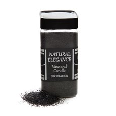 Coloured Sand - Sand Natural Coarse Black (760g Jar)