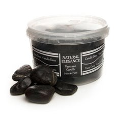 River Pebbles - River Pebbles Polished Black (4.7kg)