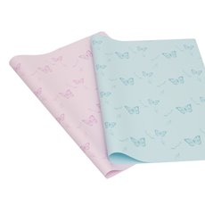Cello Regal Butterfly 65mic 100Pk (50x70cm) Teal & Pink