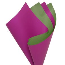 Cello Regal DUO 60mic 100 Sheets Moss Fuchsia (50x70cm)