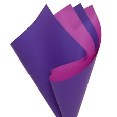 Regal Pearl Wrap Duo Hue - Cello Regal Pro DUO 65mic Violet Fuchsia (50x70cm) Pack 100