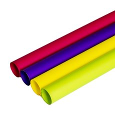 Regal Pearl Wrap Solid - Cello Regal Pro 65mic Brights 4 Cols (50x70cm) Pack 100