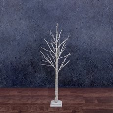 LED Decorations - LED Twigs Tree 42 Lights Natural Birch (120cmH)