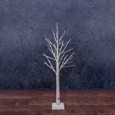 LED Decorations - LED Twigs Tree 42 Lights Pure White (120cmH)
