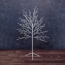 LED Tree 120 Cool White Seed Lights 240V (1.2mH)
