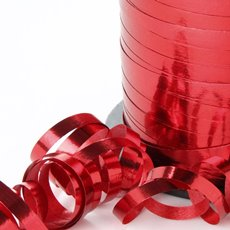 Curling Ribbons - Ribbon Curling Metallic Red (5mmx450m)