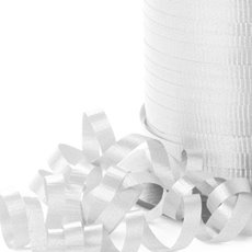 Curling Ribbons - Ribbon Curling White (5mmx450m)