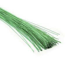 Glitter Wire 0.8mm x 50cm (250g) Apple Green