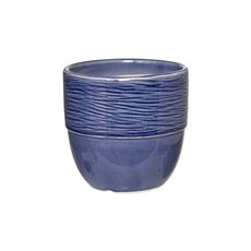 Ceramic Round Pot Navy Blue (15cmDx14cmH)