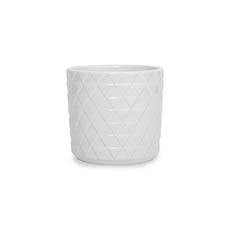 Trend Ceramic Pots - Ceramic Epping Pot White (14.5Dx14.5cmH)