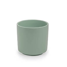 Trend Ceramic Pots - Ceramic Loreto Pot Matte Sea Foam (15Dx14cmH)
