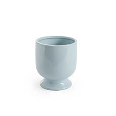 Trend Ceramic Pots - Ceramic Kyoto Pot Planter Glossy Dream Blue (13.5cmx15cmH)