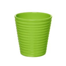 Ceramic Promo Flora Pot 13.5Dx14cmH Lime