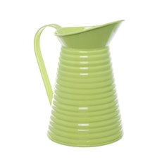 Country Tin Metal Pitcher Lime (12Dx21cmH)