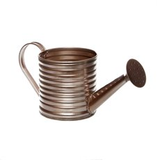 Tin Metal Watering Can & Jug - Rustic Tin Metal Watering Can Rose Gold (11Dx11cmH)