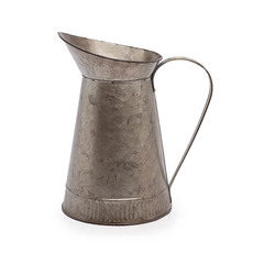 Tin Metal Watering Can & Jug - Logan Rustic Tin Metal Watering Jug Copper (12Dx22cmH)