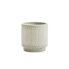 Trend Ceramic Pots - Ceramic Pot Palm Bay Sage (15x15cmH)